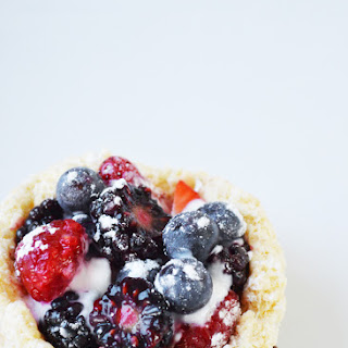 Faux French Fruit Tarts