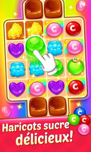 Code Triche Candy Smash - 2020 Match 3 Puzzle jeu gratuit APK MOD screenshots 4