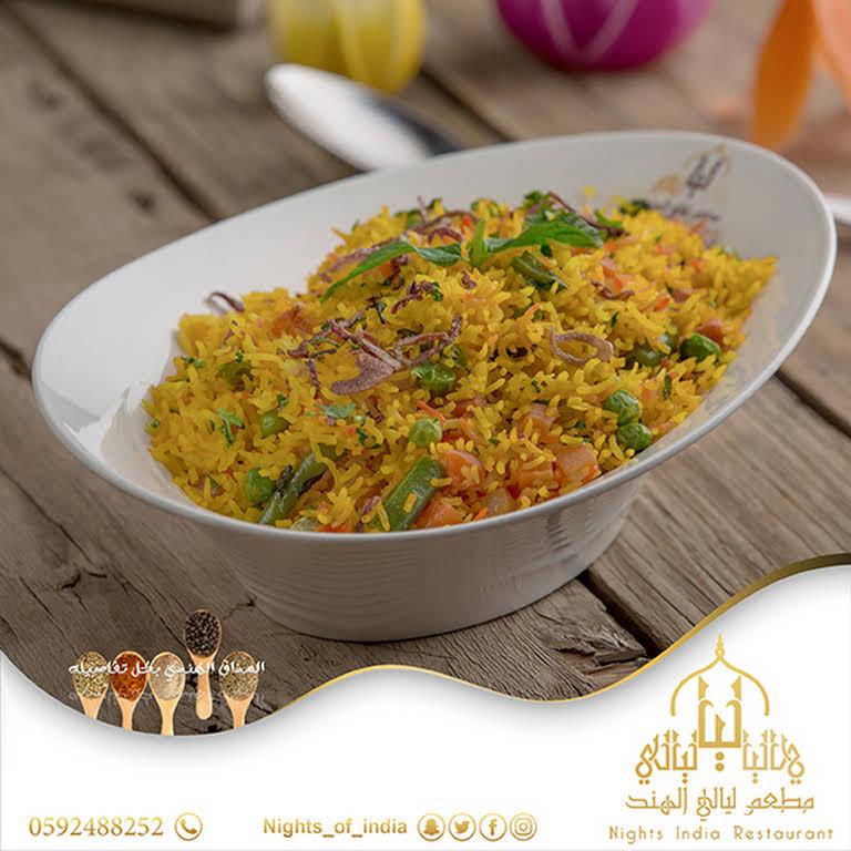 مطعم ليالي الهند مطعم في أبها