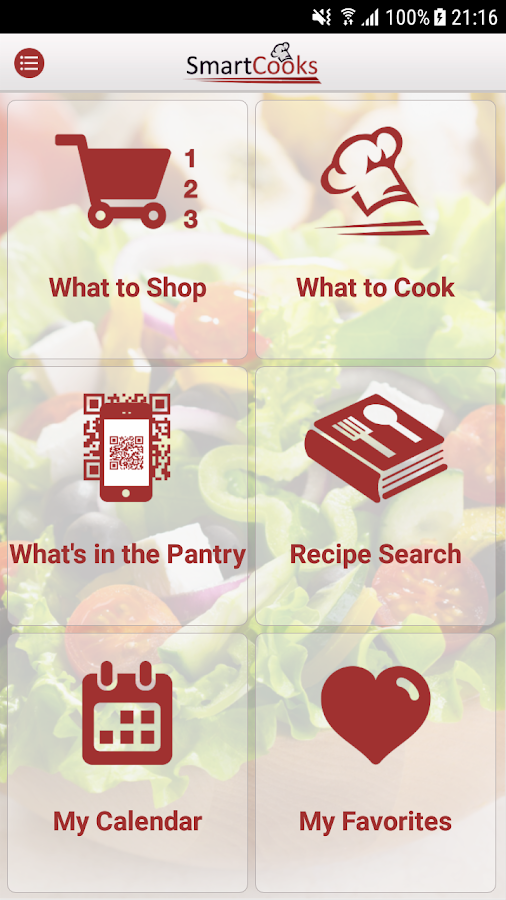 SmartCooks - Eat at Home Everyday- screenshot