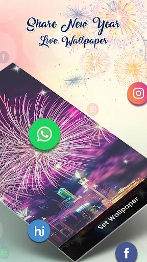 New Year 2019 Live Wallpaper 1.0 screenshots 4
