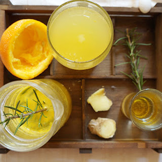 Mediterranean Ginger-rosemary Drink