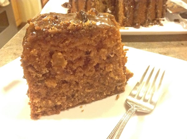 Cut serve and enjoy this moist and tasty cake.