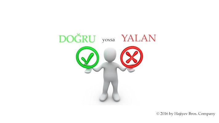 Dogru yoxsa Yalan - screenshot