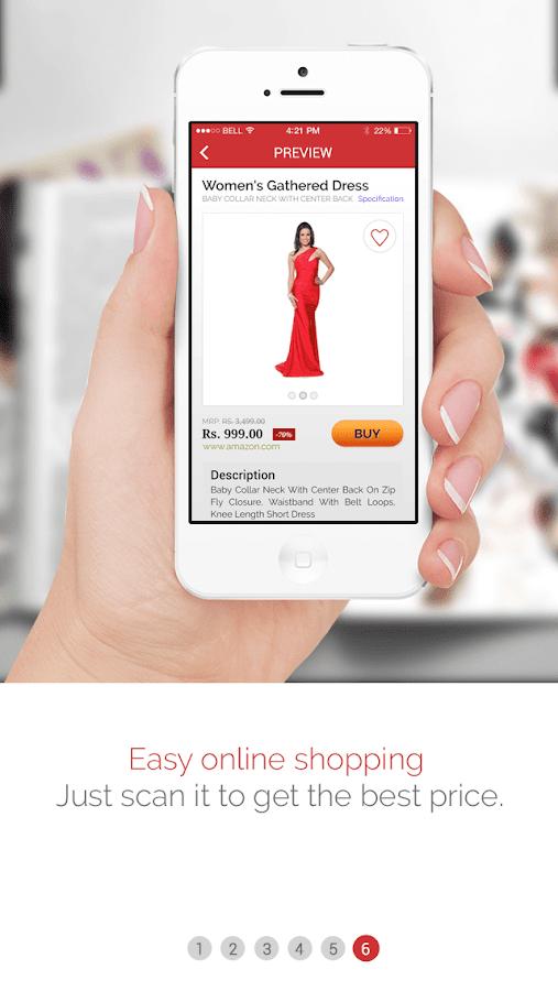 Alive OneScan Visual Search AR- screenshot