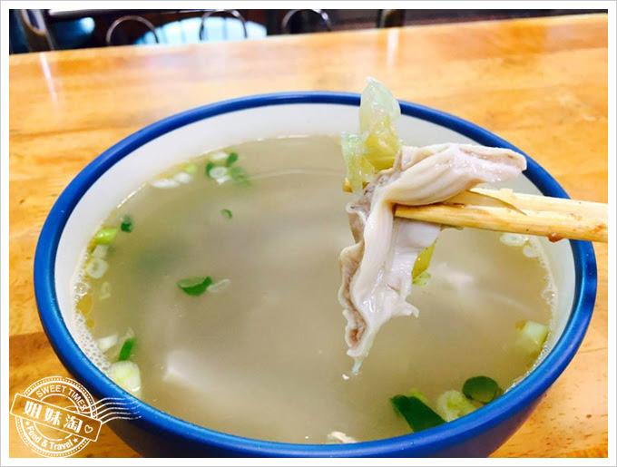 川味小炒-酸菜肚片湯