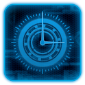 Blueprint Tech Clock Widget icon