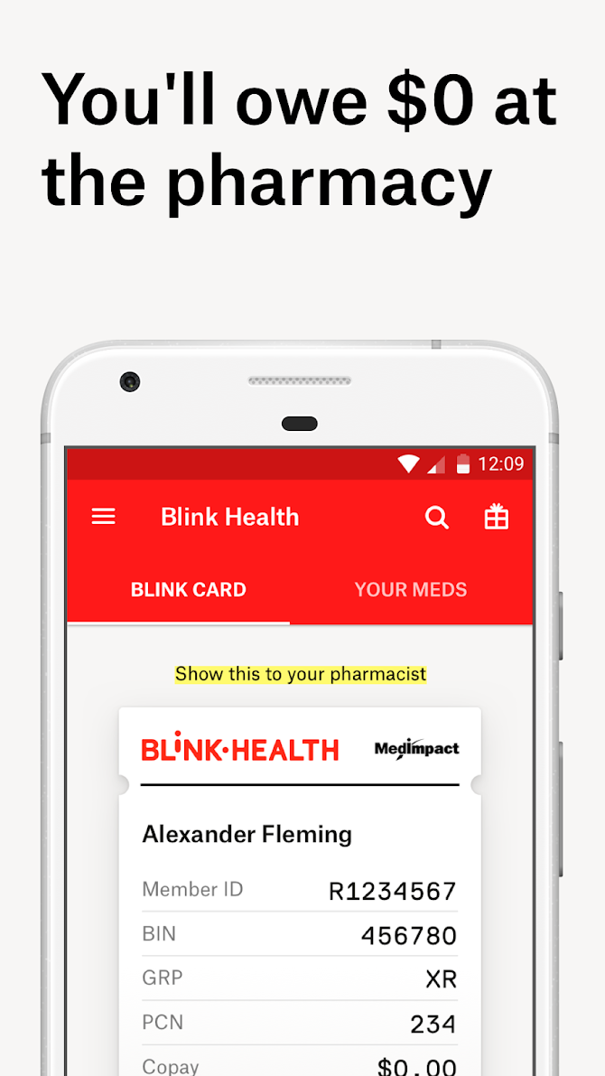 Blink Health Low Rx Prices Android 3