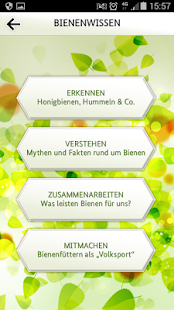 Bienen-App- screenshot thumbnail