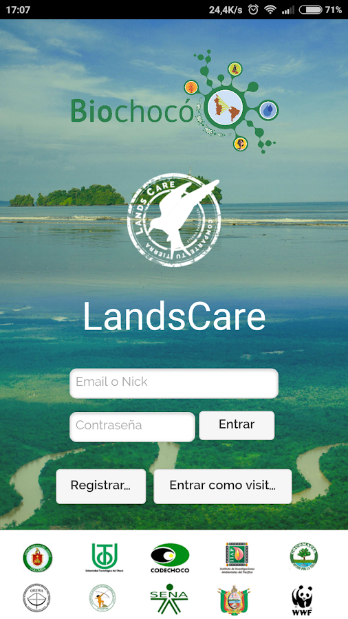 LANDSCARE COLOMBIA- screenshot