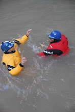 Photo: Drysuits full of air are always funny