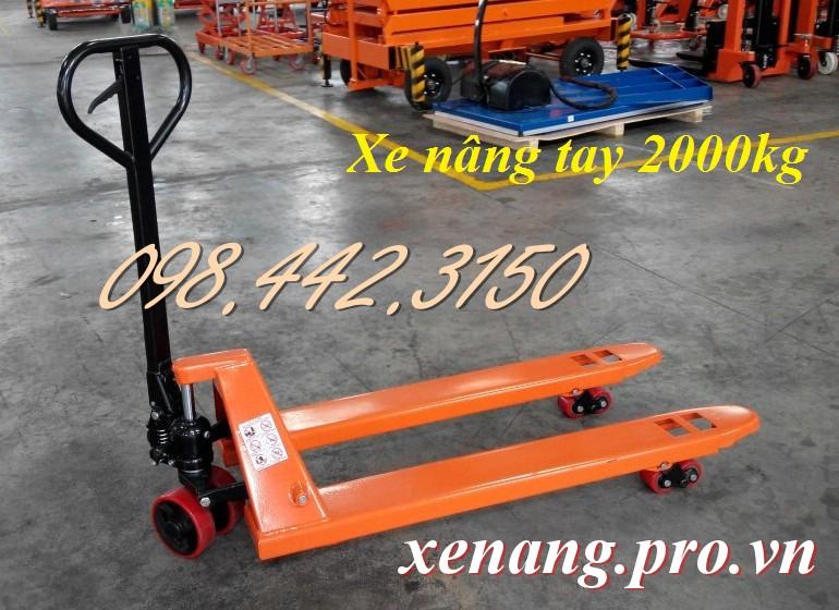 Xe nâng tay 2000kg
