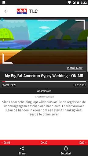 Belgium TV EPG Free 2.5 screenshots 2
