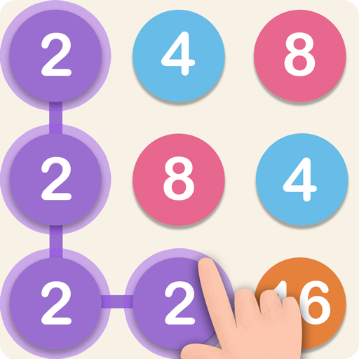 248: Connect Dots, Pops and Numbers Icon