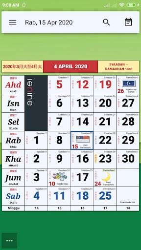 Calendar Malaysia & Memo ss1