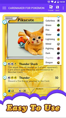 Card Maker for Pokemon - screenshot