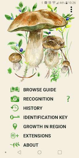 Mushrooms app  screenshots 1
