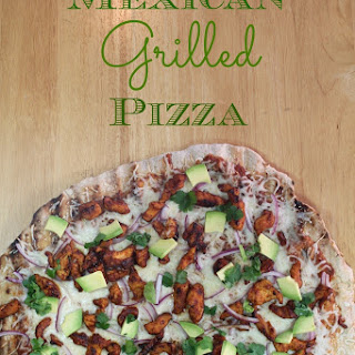 Mexican Grilled Pizza.