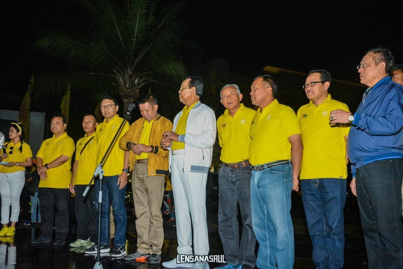Pelepasan peserta tour de ambarrukmo 2019 oleh Gubernur DIY