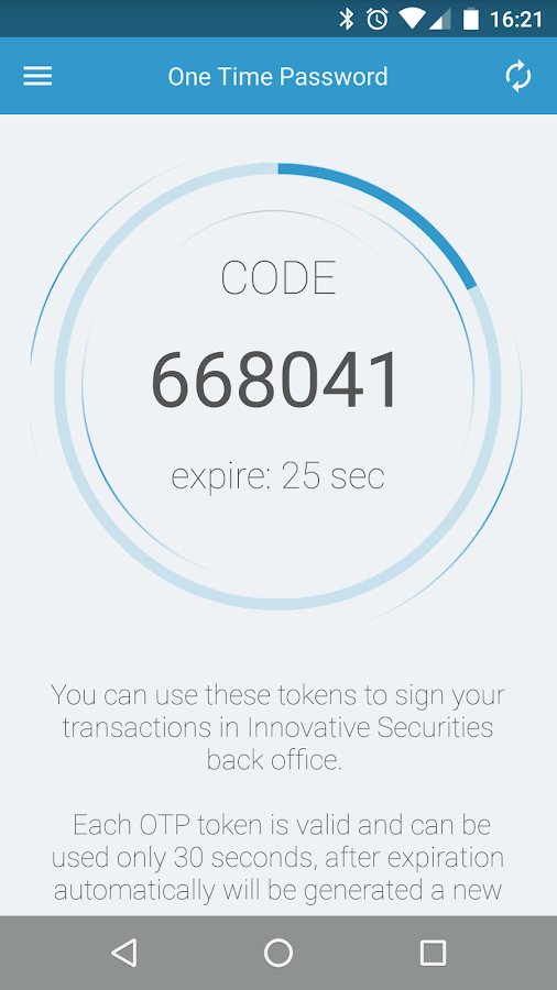 Innovative Securities- screenshot