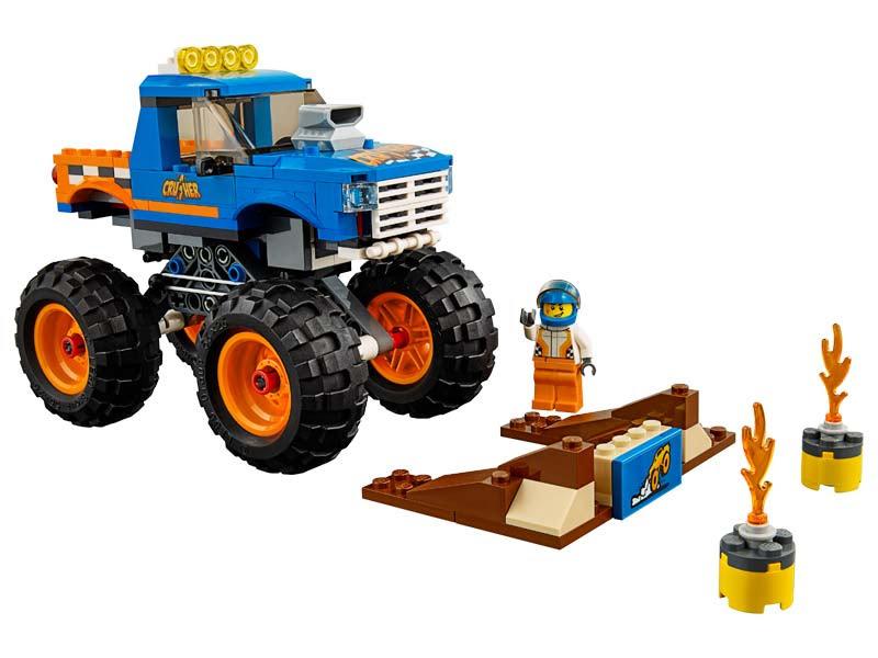 Contenido de Lego® 60180 Camión Monstruoso