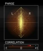 Phase correlation plugin mastering