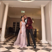 Thando Thabethe and Frans