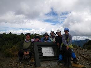 Photo: 北峰上的我們