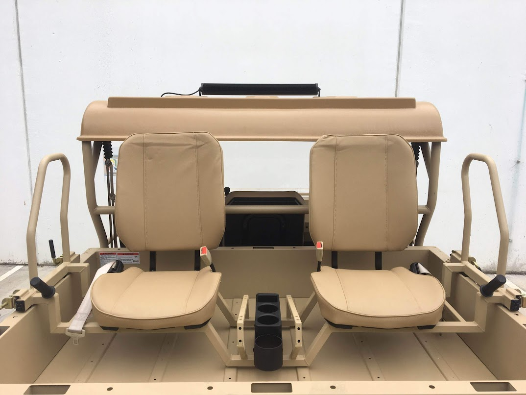 800cc military utv odes additional rear seats extra passenger 5 seater