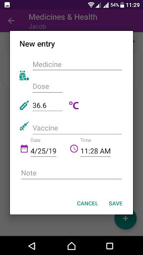 BabyAppy: breastfeeding, sleep and diapers tracker 1.37 Screenshots 4