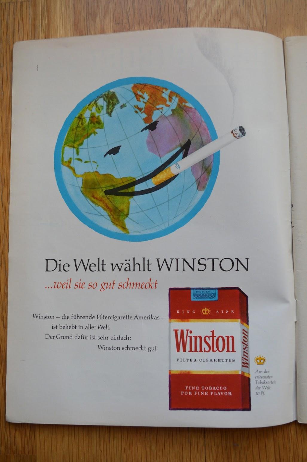 DER SPIEGEL, 29. April 1964 - Werbung für Zigaretten