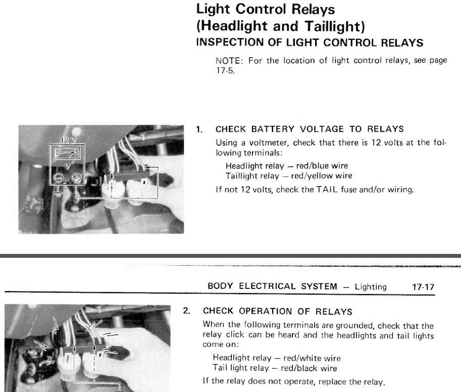 1982 Toyota 4x4 Pickup headlight Relay wiring - YotaTech Forums on