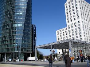 Photo: Der Potsdamer Platz in Berlin mit dem Sony Center bei einem Tagesausflug vom Ferienhaus http://www.inselhaus-rheinsberg.de im Hafendorf Rheinsberg