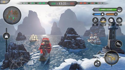 King of Sails: Naval battles 0.9.497 APK MOD screenshots 2