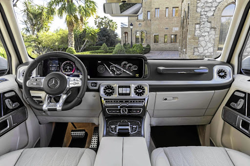 There are a few AMG touches in the interior. Picture: SUPPLIED