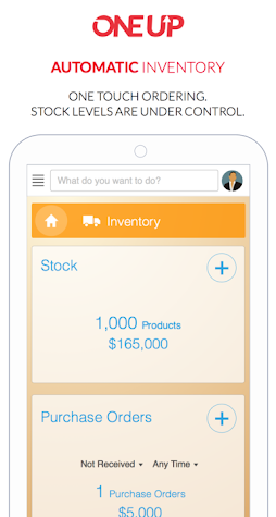 Accounting Invoicing - OneUp Screenshot