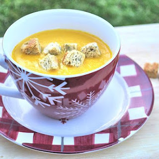 Carrot and Coriander Soup.