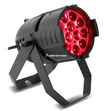 Par LED con zoom