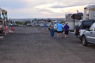 Photo: VIP parking at the Balloon Fiesta