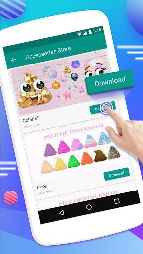 Emoji Maker- Free Personal Animated Phone Emojis Apk apps 5