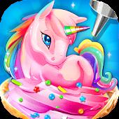 Tải Rainbow Unicorn Ice Cream Trò chơi nấu ăn miễn phí