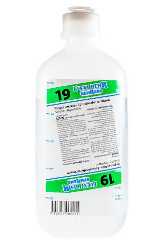 Solución Número 19 Ringer Lactato Behrens x 500 ml