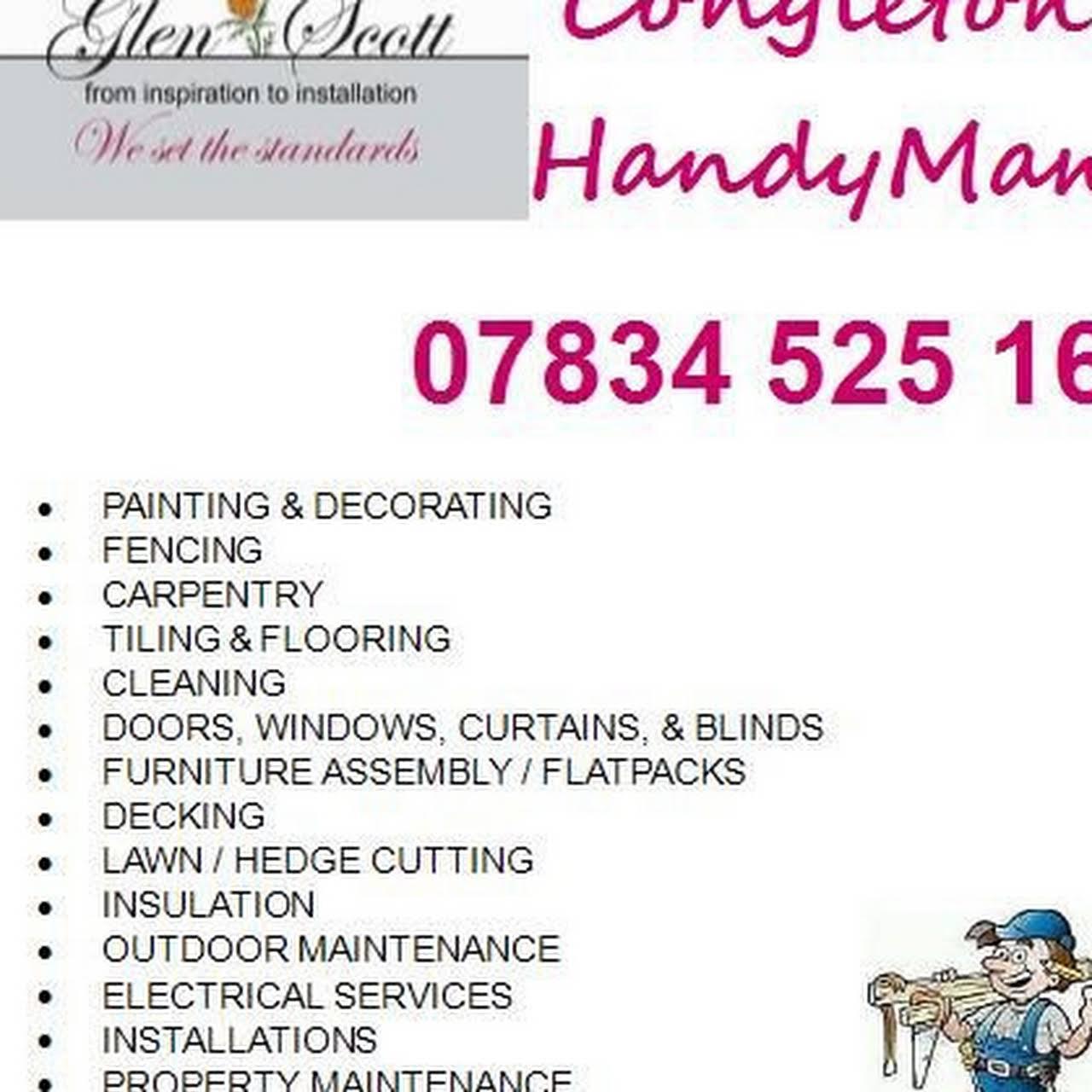 GlenScott HandyMan Congleton - Local Handyman & Property