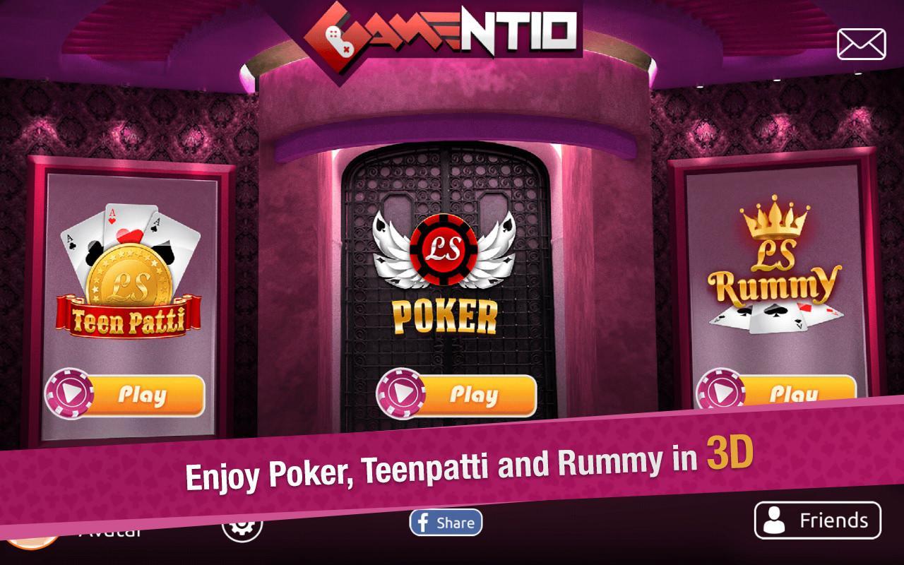 Real Money Teen Patti Gambling 100