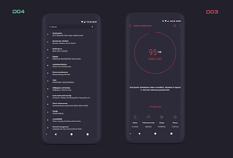 PitchBlack S Samsung Substratum Theme Oreo OneUI 31.1 Patched APK For Android - 10 - images: Download APK free online downloader | Download24h.Net