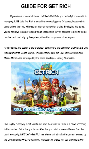 Guide For Get Rich