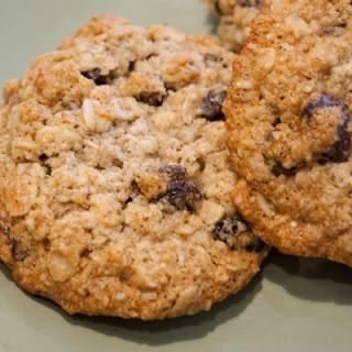 Flourless Raisin Cookies