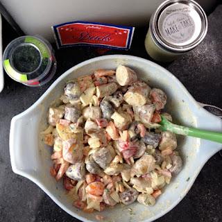 Latin-Style Potato Salad With Easiest Homemade Mayo