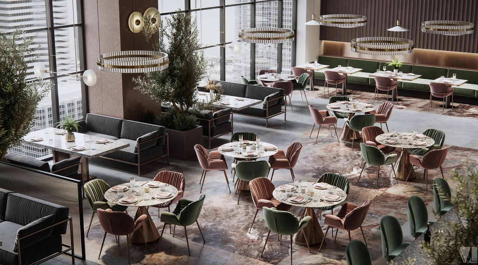 Thiết kế nhà hàng kiểu Châu Âu