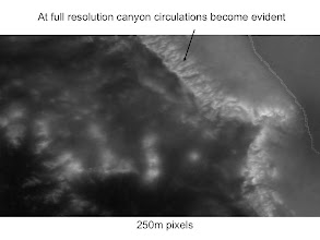 Photo: OK...at full resolution we can now see cloudiness and how it is related to topography.